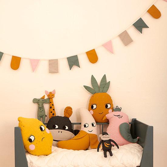 Roommate Girlande Hip Hip Hurra - Multi Pastel - Roommate