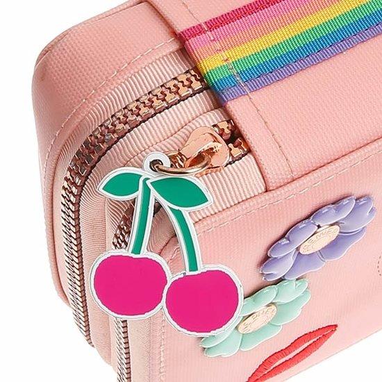Jeune Premier boekentas Jeune Premier pennenzak gevuld Lady Gadget Pink
