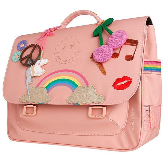 Jeune Premier boekentas School bag Midi Lady Gadget Pink - Jeune Premier