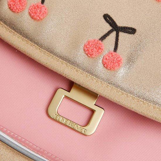 Jeune Premier boekentas Lunch bag Cherry Pompon - Jeune Premier