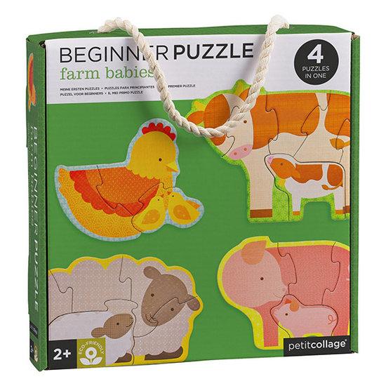Petit Collage Petit Collage mijn eerste puzzel boerderijdieren