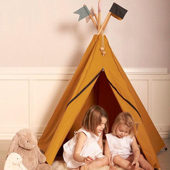 Roommate Teepee - Hippie play tent - Ochre - Roommate