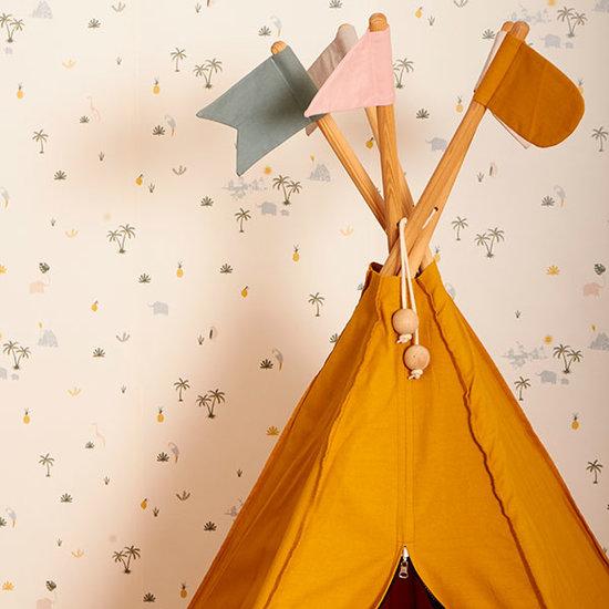 Roommate Tipi - Hippie Spielzelt - Ochre - Roommate