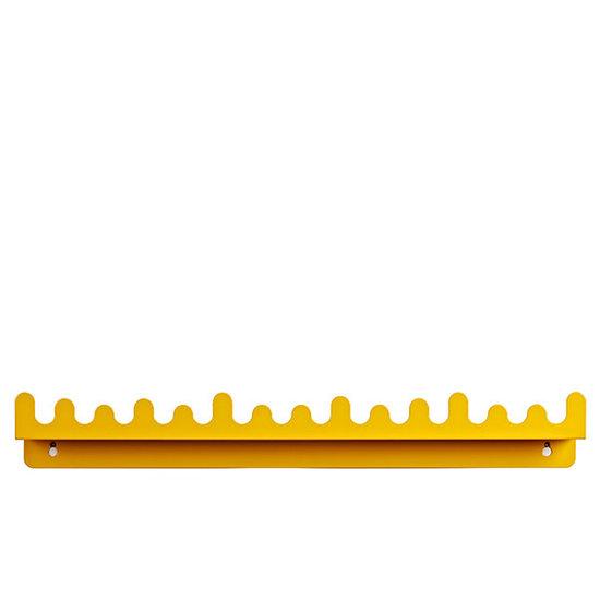 Roommate Wandplank Doodle Drop Yellow - Roommate