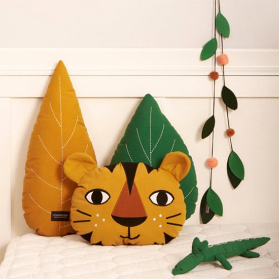 Roommate Kussen Leaf Ochre - Roommate