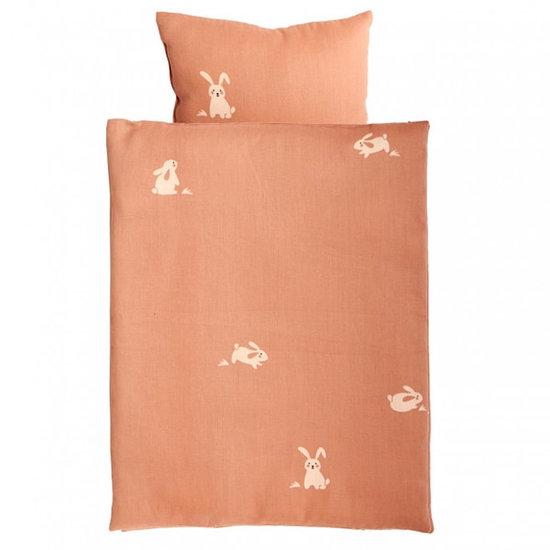 Roommate Literie lit poupon Rabbit - Roommate