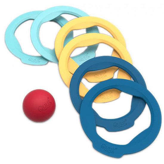 Quut Quut Ringo 6 ringen + 1 bal - petanque spel