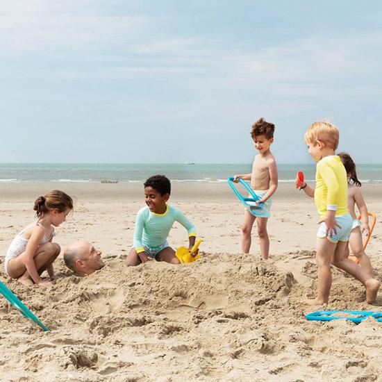 Quut Quut Triplet Mellow Yellow jouets de plage 4 en 1