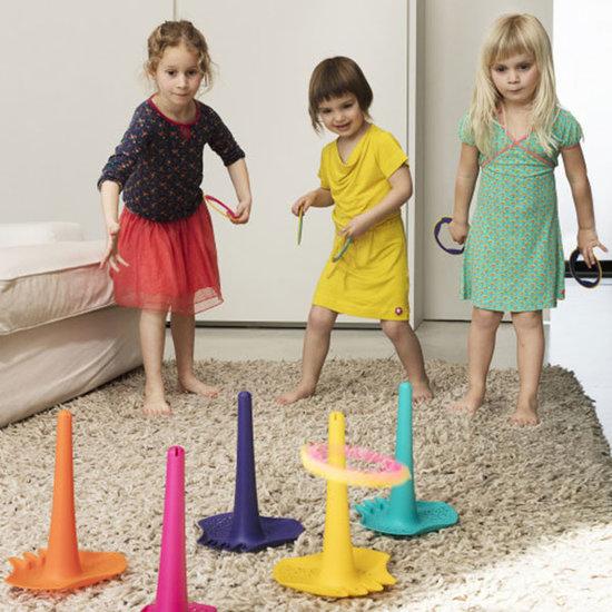 Quut Quut Triplet Deep Blue jouets de plage 4 en 1