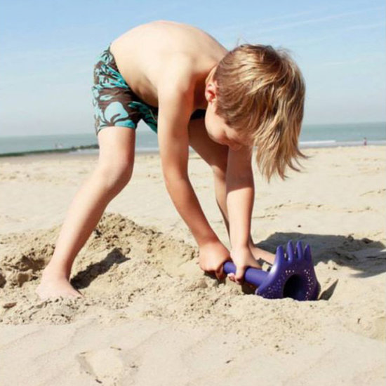 Quut Quut Triplet Ocean Purple 4-in-1-Strandspielzeug
