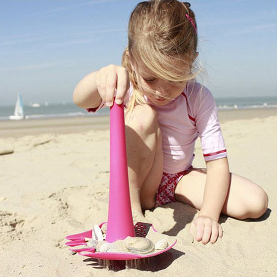 Quut Quut Triplet Calypso Pink 4-in-1-Strandspielzeug