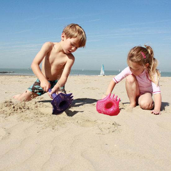Quut Quut Triplet Calypso Pink jouets de plage 4 en 1