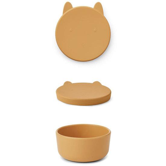Liewood Boîte à collation Liewood Charlot Rabbit yellow mellow