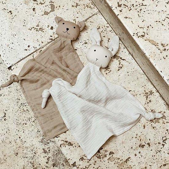 Liewood Liewood Yoko mini cuddle cloths Sandy-Beige