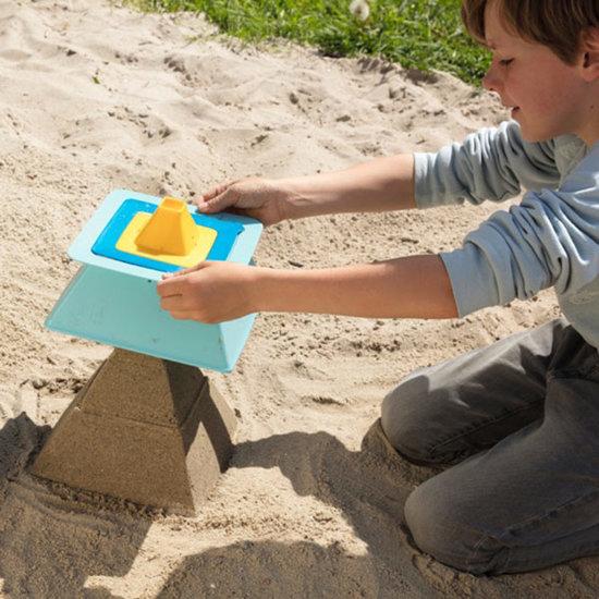 Quut Quut Pira Vintage Blue + Yellow jouet de plage