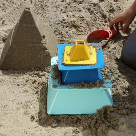 Quut Quut Pira Vintage Blue + Yellow Strandspeelgoed
