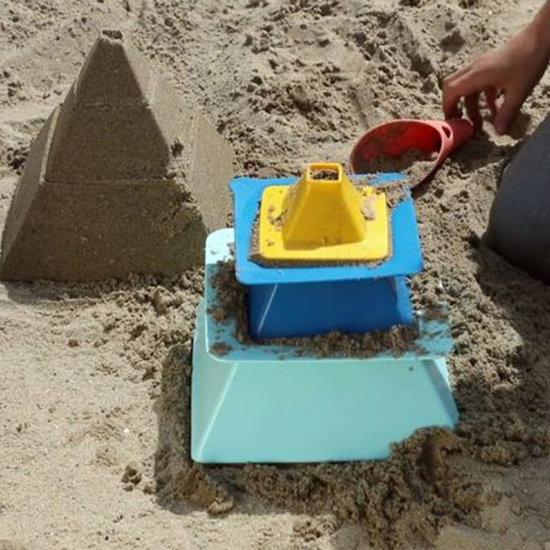 Quut Quut Pira Vintage Blue + Yellow Strandspielzeug