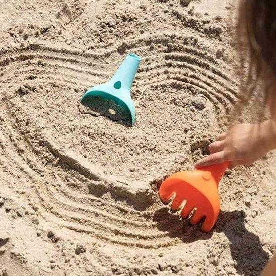 Quut Quut Raki Vintage Blue + Orange rake and shovel