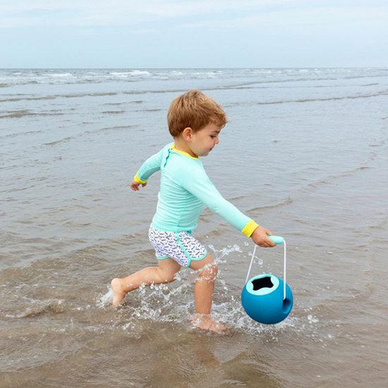 Quut Quut Mini Ballo Dark Blue + Vintage Blue bucket