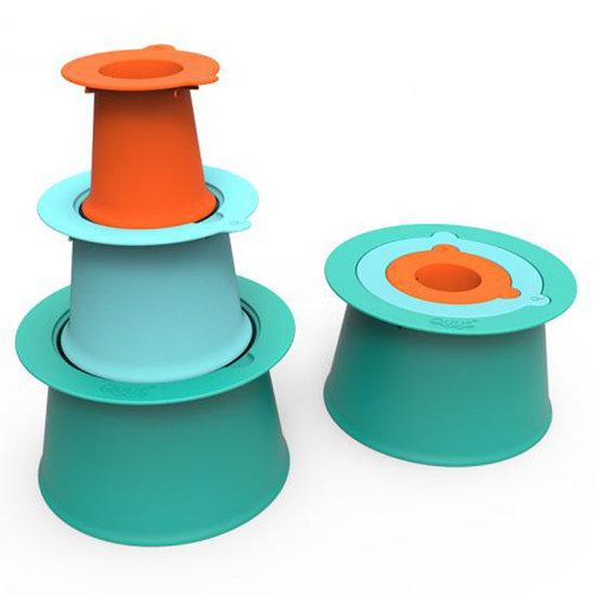 Quut Quut Alto Lagoon Green-Blue-Orange jouet de plage