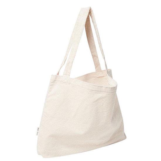 Studio Noos Studio Noos tas Mom-bag Old white rib