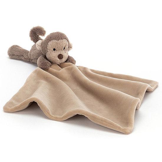 Jellycat Knuffeldoekje Shooshu Monkey - Jellycat