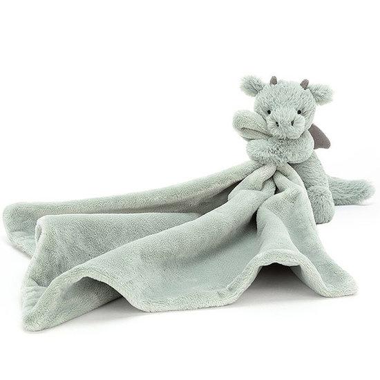 Jellycat Knuffeldoekje Bashful Dragon - Jellycat