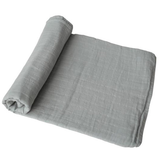 Mushie Mushie tetradoek Belgian Grey