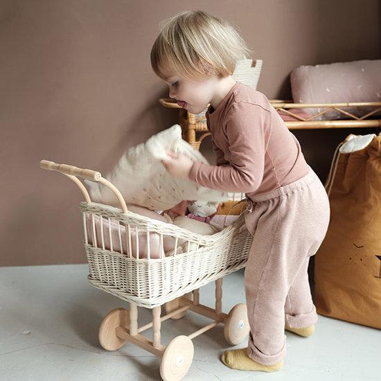 Fabelab Puppenwagen Bettwäsche Wild Berry - Fabelab