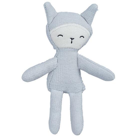 Fabelab Puppe Pocket Friend Bunny Foggy Blue - Fabelab