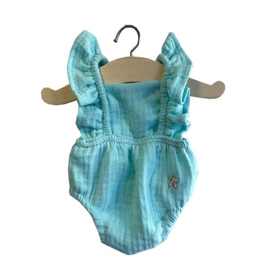 Minikane Doll clothes bloomer blue - Minikane