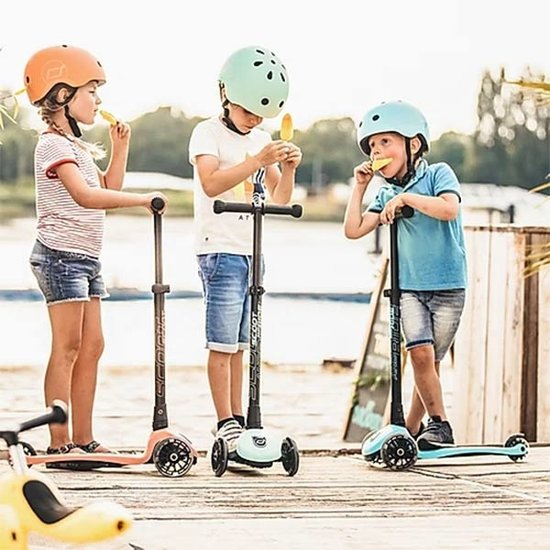 Scoot and Ride Scoot and Ride helm S-M - Blueberry