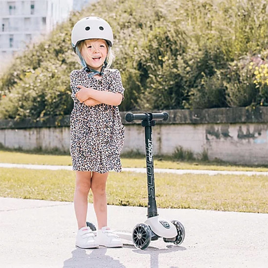 Scoot and Ride Scoot and Ride helm S-M - Ash