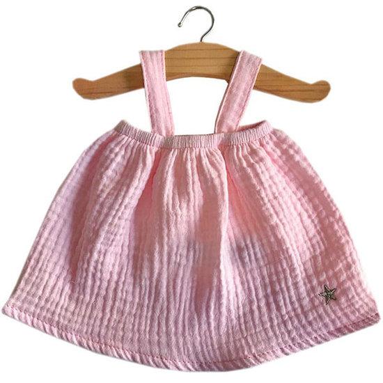 Minikane Poppenkleertjes jurk Mila roze - Minikane