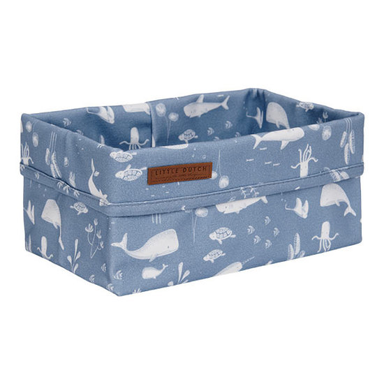 Little Dutch Little Dutch storage basket big - Ocean Blue