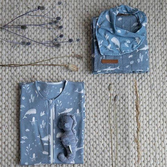 Little Dutch Little Dutch Musselintuch 70 x 70 - Ocean Blue