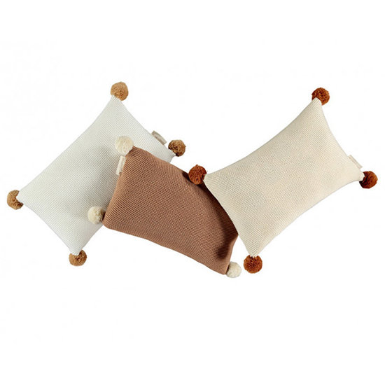 Nobodinoz tipi en accessoires Nobodinoz So Natural Kissen Milk