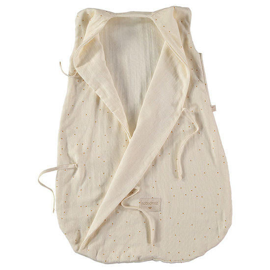 Nobodinoz tipi en accessoires Nobodinoz Dreamy summer sleep bag Honey Sweet Dots