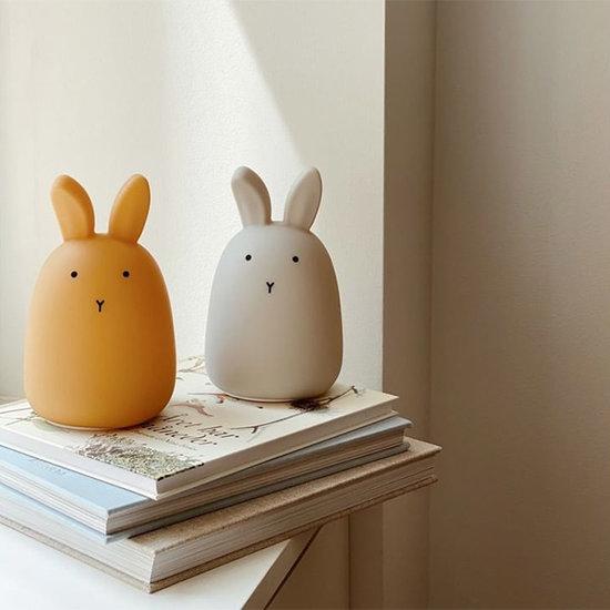 Liewood Nachtlampje Winston Rabbit dumbo grey - Liewood