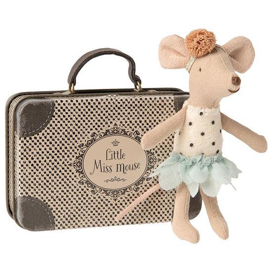 Maileg Maileg Little Miss kleine Schwester Maus im Koffer