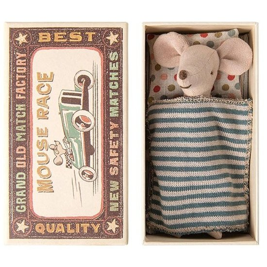 Maileg Maileg big brother mouse in box Jeans
