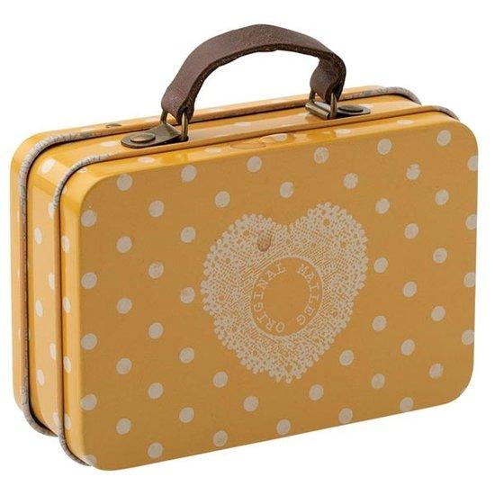 Maileg Maileg metalen koffer Yellow dot