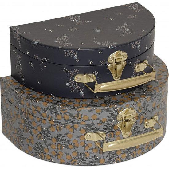 Konges Slojd Konges Slojd koffertjes Orangery blue - nostalgie