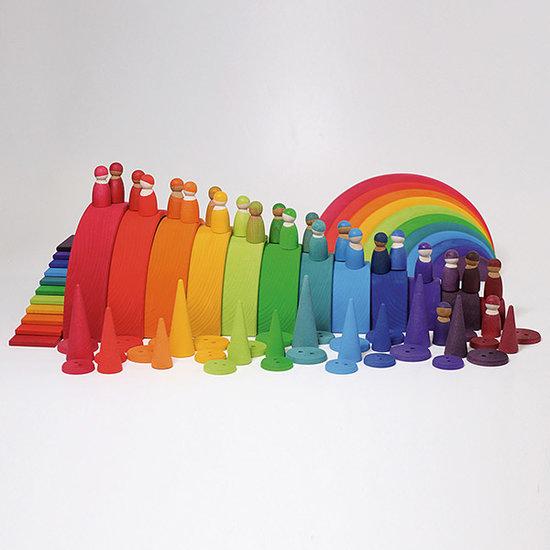 Grimm's Grimm's regenboog bos - set van 12