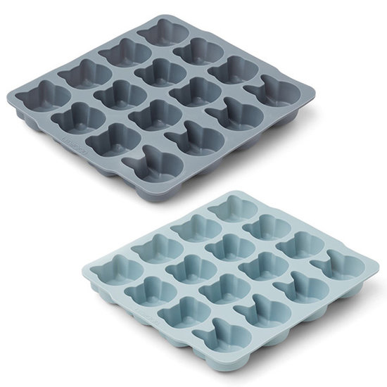 Liewood Liewood Sonny ice cube tray 2pack Blue mix