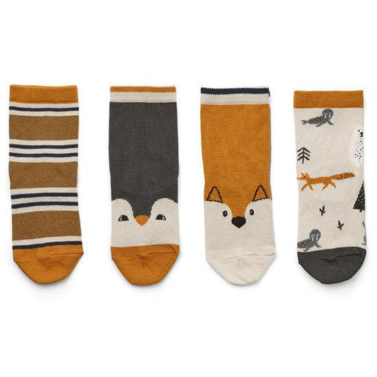 Liewood Socks Silas Arctic mix - Liewood 4-pack