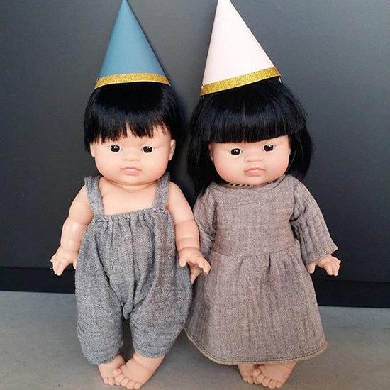 Minikane Baby doll boy Asian Jude - Paola Reina