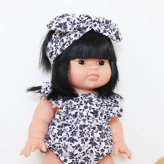 Minikane Babypop meisje Aziatisch Jade - Paola Reina