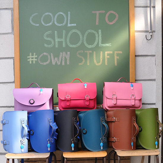 Own Stuff Own Stuff leather school bag octane