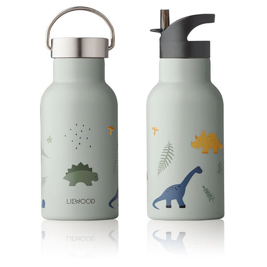 Liewood Liewood thermo drinkfles Anker Dino dove blue mix